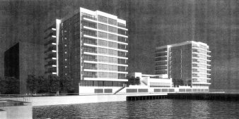 Monarch Towers' Rendering of Proposed Development